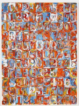 Famous Abstract Painting - Numbers in Color Abstract Expressionism