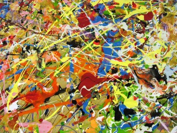 Famous Abstract Painting - unknown 5 Abstract Expressionism