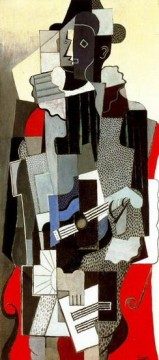 1917 Canvas - Arlequin 1917 Cubism