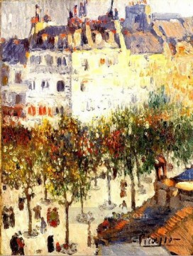 Boulevard de Clichy 2 1901 Cubism Oil Paintings