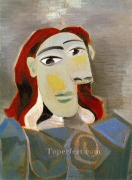 Buste de femme 1 1940 Cubism Oil Paintings