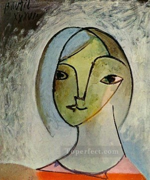 Buste de femme 1929 Cubism Oil Paintings