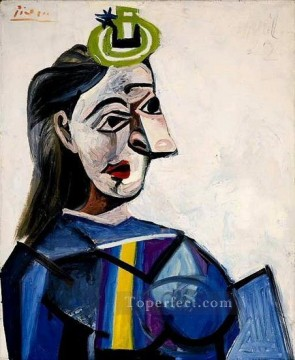 Buste de femme Dora Maar 1941 Cubism Oil Paintings