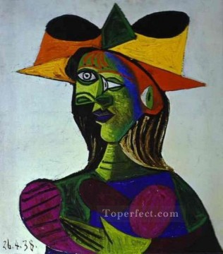 Buste de femme Dora Maar 2 1938 Cubism Oil Paintings