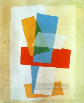 Composition I 1920 Cubism Oil Paintings
