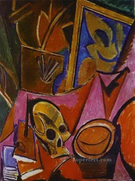 cubism - Composition with a Skull 1908 Cubism