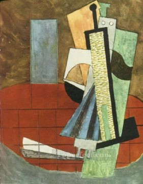 Couple de danseurs 1915 Cubism Oil Paintings