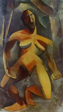 Dryad 1908 Cubism Oil Paintings
