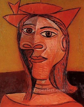 Femme au chapeau Dora Maar 1938 Cubism Oil Paintings