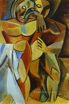 Friends Art - Friendship 1908 Cubism