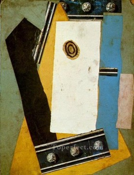 Guitare 1 1920 Cubism Oil Paintings
