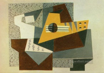 Cubism Oil Painting - Guitare 1924 Cubism
