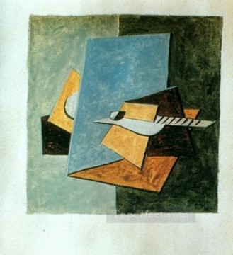 Guitare1 1912 Cubism Oil Paintings