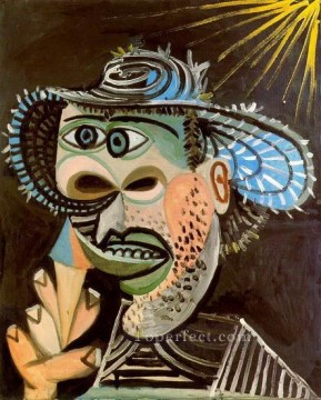 Homme au cornet de glace 3 1938 Cubism Oil Paintings