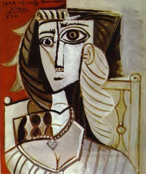 Jacqueline 1960 Cubism Oil Paintings