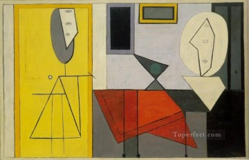 L atelier 1927 Cubism Oil Paintings