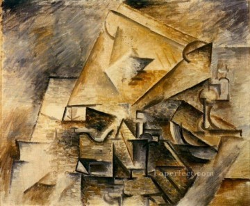 L encrier 1910 Cubism Oil Paintings
