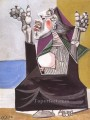 La suppliante 1937 Cubism