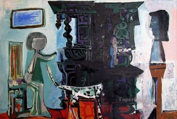cubism works - Le buffet de Vauvenargues 1959 Cubism