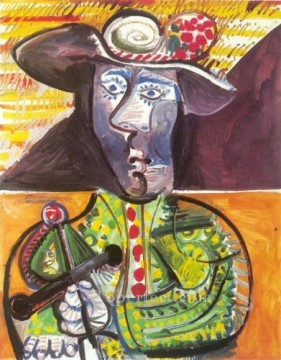 Le matador 2 1970 Cubism Oil Paintings