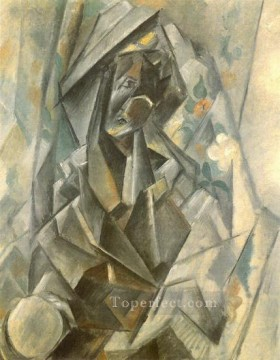 Madonne 1909 Cubism Oil Paintings