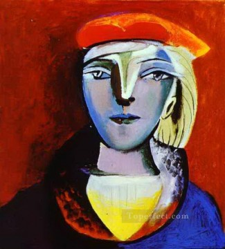 Therese Oil Painting - Marie Therese Walter 2 1937 Cubism