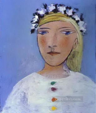 Therese Oil Painting - Marie Therese Walter 3 1937 Cubism