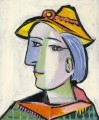 Marie Therese Walter au chapeau 1936 Cubism