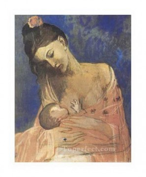 Maternity 1905 Cubism Oil Paintings