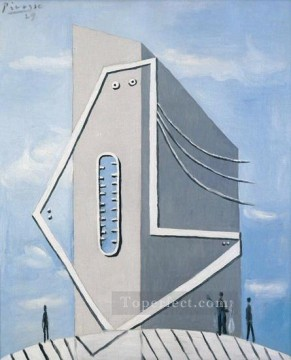 Monument Tete de femme 1929 Cubism Oil Paintings