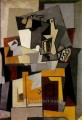 Nature Morte with a key 1920 Cubist
