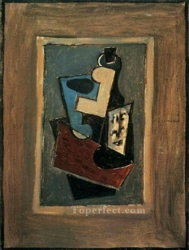 1917 Canvas - Nature morte 1 1917 Cubism