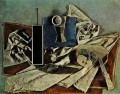 Nature morte 1 1937 Cubism