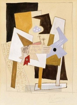Nature morte 1921 Cubism Oil Paintings