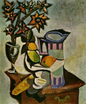 1918 Painting - Nature morte 2 1918 Cubism