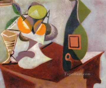 Nature morte au citron et aux oranges 1936 Cubist Oil Paintings
