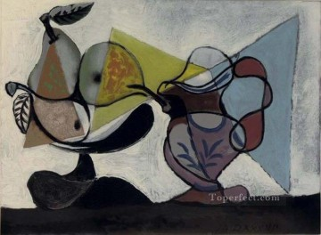 Nature morte aux fruits 1939 Cubist Oil Paintings
