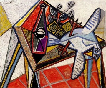 Famous Abstract Painting - Nature morte avec pigeon 1941 Cubist