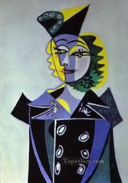 Nusch Eluard 1937 Cubist Oil Paintings