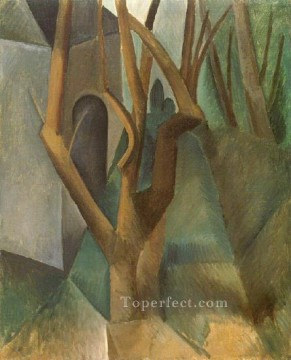 Paysage 2 1908 Cubist Oil Paintings