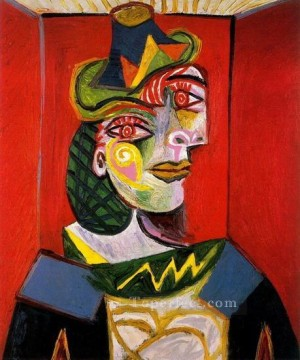 Portrait de Dora Maar 1936 Cubist Oil Paintings