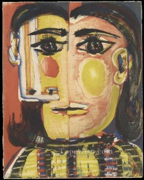 Portrait de Dora Maar 2 1942 Cubist Oil Paintings