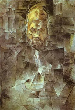 Portrait of Ambroise Vollard 1910 Cubist Oil Paintings