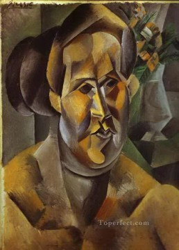 Portrait of Fernarde 1909 Cubist Oil Paintings