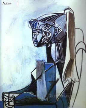 Portrait of Sylvette 1954 Cubist Oil Paintings
