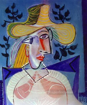 Portrait of a Young Girl 3 1938 Cubist Oil Paintings