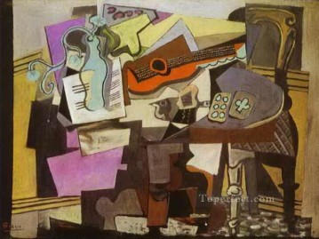 1918 Works - Still Life 1918 Cubist