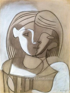 Tete de femme 1928 Cubist Oil Paintings