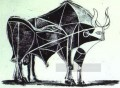 The Bull State V 1945 Cubist