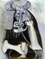 The King of the Minotaurs 1958 Cubist